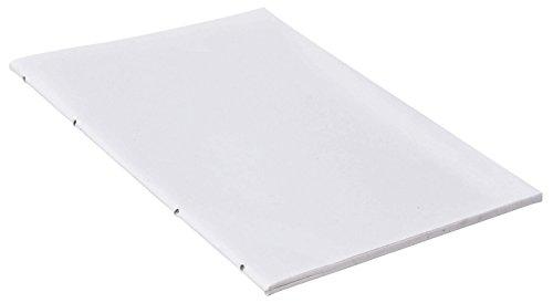 Notizbucheinlage DIN-B6 Uni 5er Set Notizbuch-Inlay Ersatzblock Nachfüllblock Nachfüllset Naturpapier
