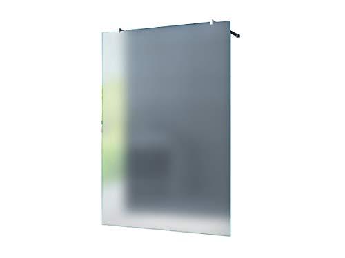 duschwand freistehend Freistehende 10 mm Duschabtrennung Düsseldorf - Milchglas, Frost 140 x 200 cm/Walk-In Duschtrennwand Duschwand Dusche