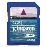 Kingston - Tarjeta de memoria SDHC de 2 GB clase 4