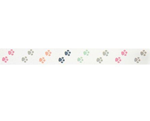 Puppy Paws Washi Tape (1Rolle-9/40,6cm breit x 10,95Meter lang)-Hund Party Supplies, Verpacken Tape, Jungen, Geburtstag, Partyzubehör, Design Klebeband, Washi Tape machen