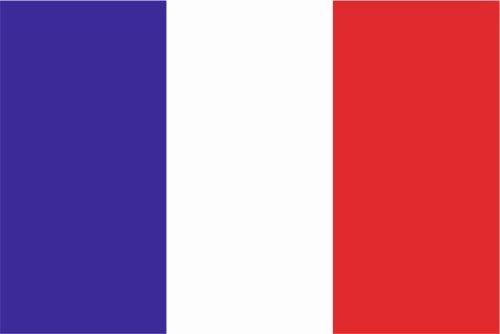 Autoaufkleber Sticker Fahne Flagge Aufkleber 10cm Frankreich laminiert sehr lange Haltbar -