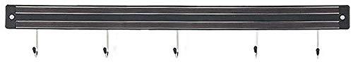 Ayanx Wandregal aus Metall, für Küchenutensilien, 34 cm, 3 Haken L46cm5hooks