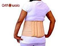 Orthowala Ls Support Belt - Back Support Pain Reliever Enhance Back Posture (Xl-44-48-Inches)