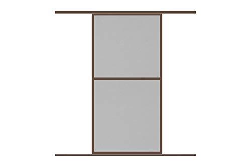 Fliegengitter Insektenschutz Schiebetür \'COMFORT\', 120 x 240 cm