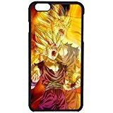 Dragon Ball Z Goku 2 Cover iPhone 6/6s Case [Black Plastic] F2C6RE
