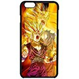 Dragon Ball Z Goku 2 Cover iPhone 6/6s Case [Black Plastic] F2C6RE