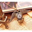Collar reloj-Snitch Harry Potter