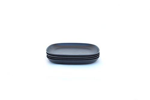 Vorspeisen-/kleiner Teller, schwarz (Kleine Vorspeisen-teller)