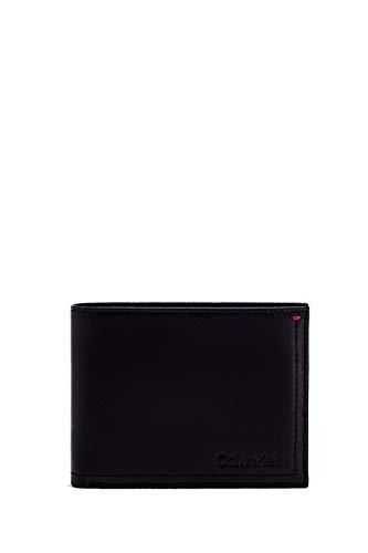 40c4164df Calvin Klein - Smooth Essential5cc Coin, Carteras Hombre, Negro (Black), 9.5