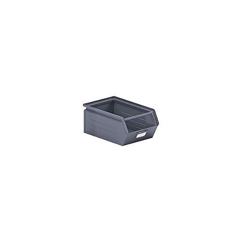 Bac à bec en tôle d'acier - capacité 7,2 litres - gris basalte - bac bac de stockage bac à bec bac à visser bacs bacs de stockage bacs à bec bacs à visser conteneurs à bec Bac Bac de stockage Bac à bec Bac à bec en tôle d'acier Bacs Bacs de stockage Bacs à