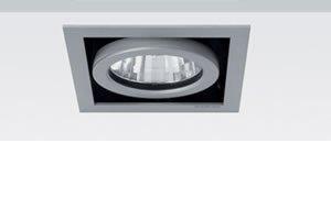 ONOK - Cardan Mini 1. Válido para Halógena o LED,color Gris Plata