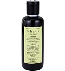 Khadi Herbal Shikakai Shampoo, 210ml
