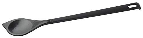 FACKELMANN Kochlöffel SPITZ Nero 30cm hängbar, Kunststoff, schwarz
