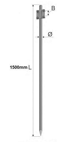 OBO Bettermann Vertr Kreuzerder 1,5m 213 1500 F m.Rundeisenfahne Staberder//Tiefenerder 4012195374718