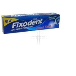 THREE PACKS of Fixodent Denture Adhesive Cream - Food