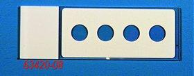 Hydrophobic Printed Slide 4 Well, Round, 8 mm,
