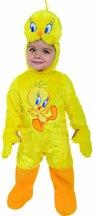 (Looney Tunes Kinder Kostüm Tweety Strampler Größe 6-12 Monate)