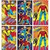 12 Mini Super Hero Spiral Notebooks - Party bag fillers - 3 Designs