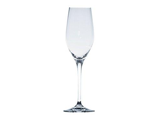 Sèvres Arpeges de Cristal Lot de 6 Verres à Flûte Champagne