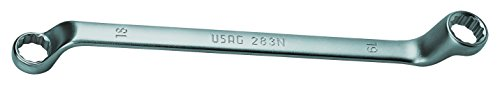 USAG 283 N/SE12 U02830303 Serie di 12 Chiavi Poligonali Doppie Curvate