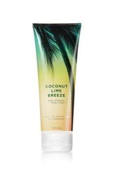 Bath & Body Works Signature Collection Coconut Lime Breeze Triple Moisture Body Cream 8 oz / 226 g