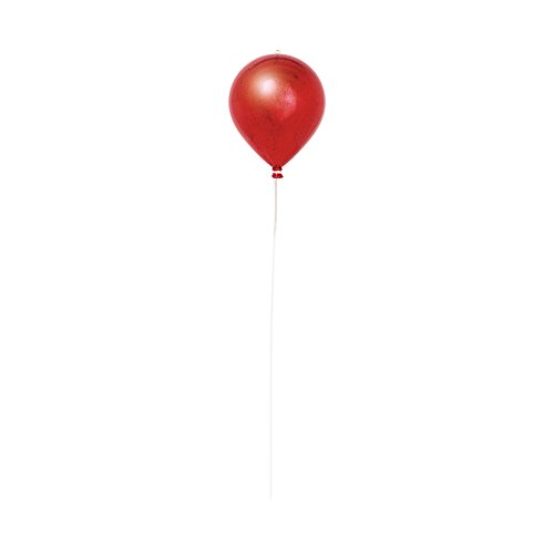Générique Abama - NO2378 - Decoration ballon volant a suspendre 20cm rouge