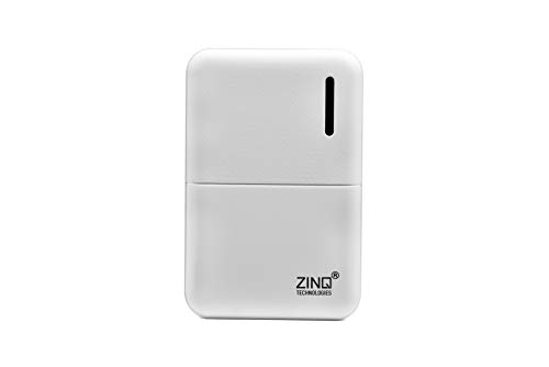 Zinq Technologies Z5KP 5000mAH Lithium Polymer Power Bank (White)