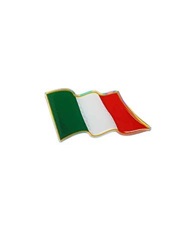Quattroerre 14009Sticker Aufkleber 3d Flagge Italienische