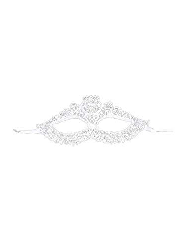 Laile Halloween Maske, Maskenball Masken Metall Maskerade Maske Masquerade Maske Venedig Maske Damen Herren Karneval Fasching Party Kostüm Cosplay Dekoration (B)