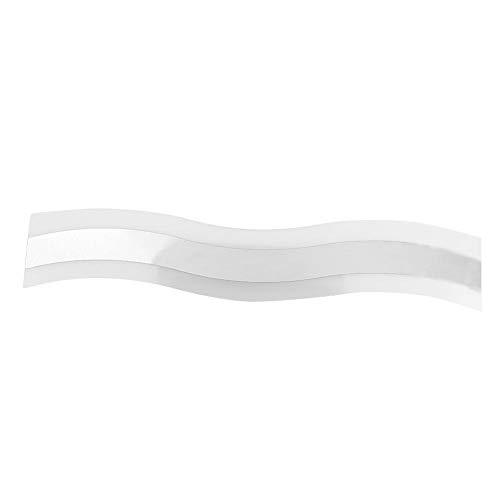 Lámparas de espejo de baño LED, lámpara de pared moderna de doble color Luces de tocador blancas...