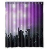 New Fantastic Purple Lights In Night Ent...
