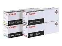 Preisvergleich Produktbild Canon 0259B002 C-EXV 17 Tonerkartusche gelb 30.000 Seiten