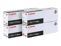 Preisvergleich Produktbild Canon 0261B002 C-EXV 17 Tonerkartusche cyan 36.000 Seiten