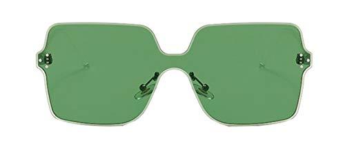 Tianba Bonbonfarbene Sonnenbrille Damen Persönlichkeit Siamese Linse Brillen Sommer Ideal Radbrille Anti-UV Brille