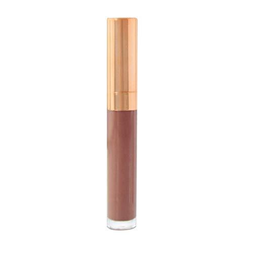 Yazidan 6 Farben Nackt Samt Glänzend Lipgloss Lippenstift Lippe Sahne Kosmetik Matt Flüssigkeit Wasserdicht Glanz Lange andauernd Auflage Kit Mode Lange andauernd Feuchtigkeitscreme(2#)