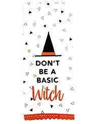 e Comical Halloween Motto Deko Küche oder Bad Handtuch ()