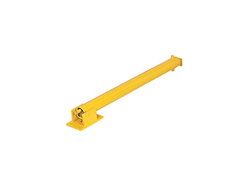 the-workplace-depot-cpp1y-hinged-parking-post-padlock-yellow