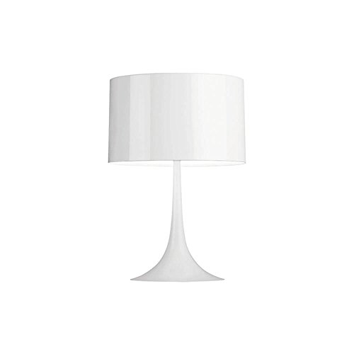 Flos Spun Light T1 Lampe de table blanche brillante 220 Volt