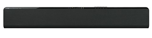 Yamaha YAS105BLB Soundbar with Dual Built-in Subwoofers - Black