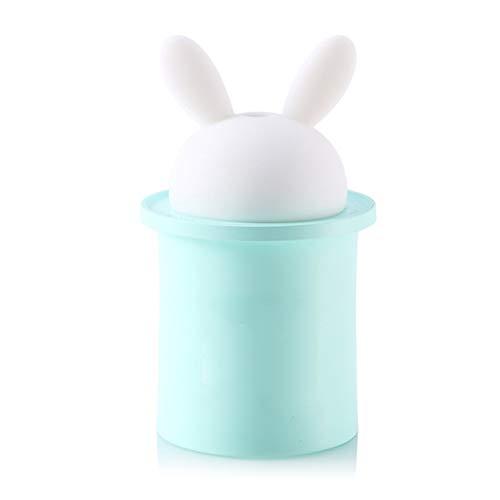 MNSSRN Mini niedlichen Kaninchen Kaninchen Luftbefeuchter, USB Portable Original ökologische nähren Infiltration Luft, warmes Nachtlicht Office Home -