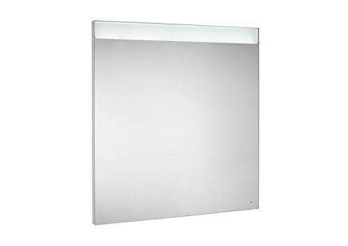 Roca A812264000 - Espejo con iluminación led superior e inferior y placa antivaho