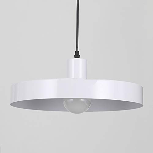 Chandeliertu Kronleuchter Nachttischlampe Nordic Einfache Kreative Restaurant Schlafzimmer Persönlichkeit Topfdeckel Lampe (Farbe : B)