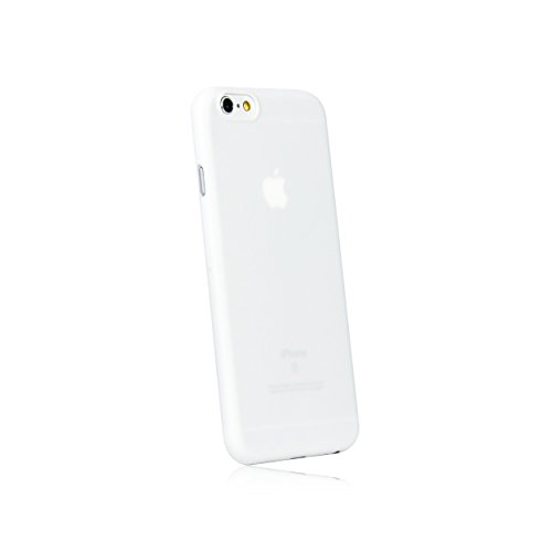 hardwrk Ultra-Slim Case - kompatibel mit Apple iPhone 6 und 6s - weiß - ultradünne Schutzhülle Handyhülle Cover Hülle in solid White (Iphone Slim 6-cover Ultra)