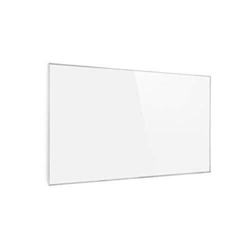 Klarstein Wonderwall White Edition - Calefactor infrarrojos inteligente, 50 x 90 cm, Rendimiento a 450W, Modo programable, Función WiFi, No produce ruido, Antisalpicaduras, Protección IP24, Blanco