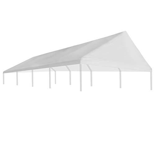 tidyard tetto per tendostruttura,giardino e giardinaggio dondoli per portico 4 x 8 m bianco