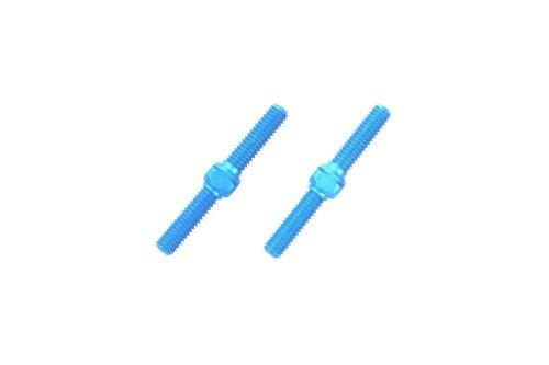 Tamiya 300054248-Aluminio/Lithium/renio-Rosca Barras, 3x 23mm, 2Unidades, Color Azul