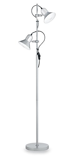 Ideal Lux Polly PT2 Lampada, Argento