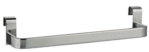 MomentumBath 391013603 Toallero Lateral para Mueble de Baño, Cromo Brillo