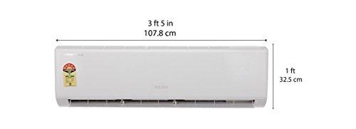 Voltas 2 Ton 3 Star Split AC (Aluminium Condensor, 245 DYI, White)