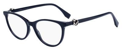 Brillen Fendi F IS FENDI FF 0332 DARK BLUE Damenbrillen